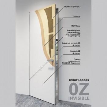 INVISIBLE with aluminium edges 0Z